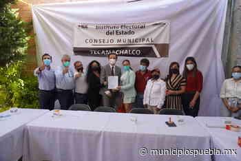 Recibe constancia de mayoría Ignacio Mier como edil electo de Tecamachalco - Municipios Puebla