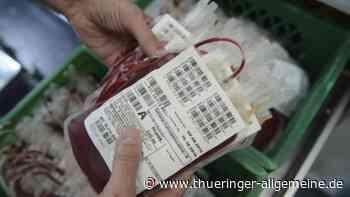 Blutspende lohnt sich aus mehreren Gründen - Thüringer Allgemeine