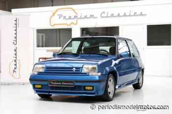 Sale a la venta un Renault 5 GT Turbo con 78.000 kilómetros - Periodismo del Motor