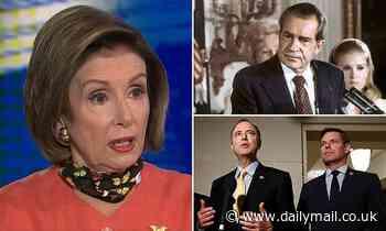 Pelosi says Trump DOJ seizing lawmakers cell data goes 'beyond' Nixon in Watergate