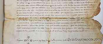 La Biblioteca de Orihuela presenta el recién adquirido pergamino de Pedro IV el Ceremonioso - InfoENPUNTO