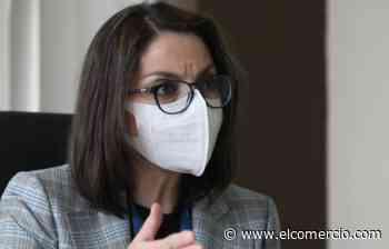 Ministra de Salud Ximena Garzón: Las personas están llegando con recetas médicas a los centros de vacunación diciendo que necesitan dosis de Pfizer - El Comercio - El Comercio (Ecuador)
