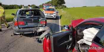Zusammenstoß nach Überholmanöver zwischen Neunkirchen und Much: 30-Jähriger auf der Landstraße 352 schwer verletzt - Kölner Stadt-Anzeiger