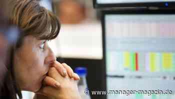 Börse am Montag: Dax, MDax erreichen Bestmarken, fallen danach, Bitcoin knapp unter 40.000