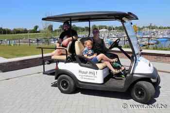 """""""Mooie dag voor ritje met E-cars"""" - Het Belang van Limburg"""