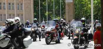 Moteros riojanos se concentran en Logroño para reclamar más seguridad - La Rioja