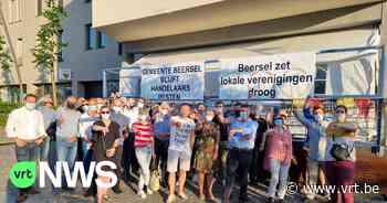 Unizo Beersel protesteert tegen belastingen voor kmo's - VRT NWS