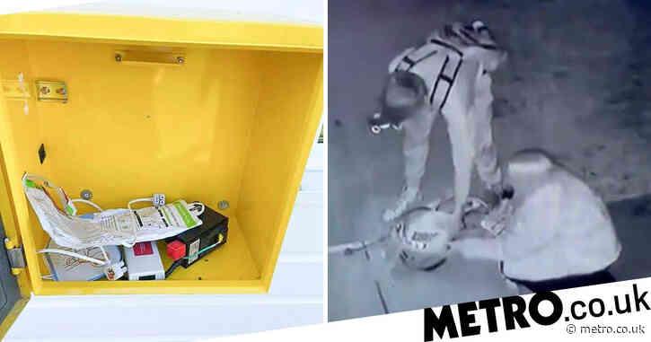 Teen arrested after club's defibrillator vandalised hours after Eriksen collapse