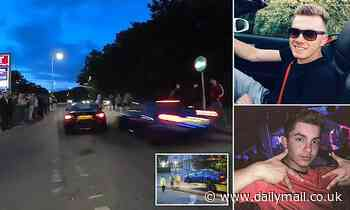 Two boy racers who left 19 people injured after crashing into crowd of spectators are jailed