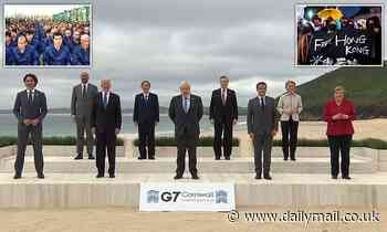 China accuses G7 of 'slander' after world leaders vow take a harder line on human rights abuses