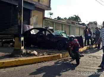 Muere un joven y cuatro resultan heridos tras choque en Ciudad Ojeda - El Pitazo