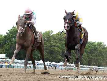 Mandaloun Holds Off Weyburn To Win Monmouth Park's Pegasus Stakes - Horse Racing News - Paulick Report