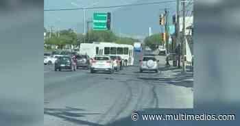 Ruta La Playa suma nueva imprudencia en Guadalupe - Multimedios