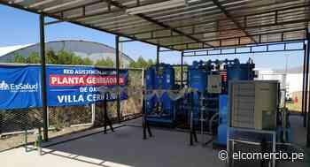 Arequipa: Essalud pone en funcionamiento planta de oxígeno en Villa Cerro Juli para reforzar lucha contra el COVID-19 - El Comercio Perú