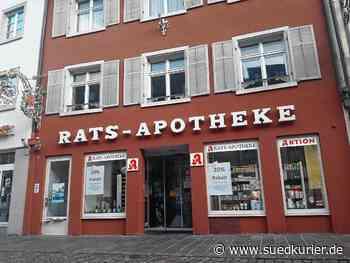 """Waldshut-Tiengen: Der Verkauf der Waldshuter Rats-Apotheke und die Lage der Branche: """"Bürokratische Hindernisse schrecken ab"""" - SÜDKURIER Online"""