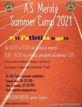 Merate: un summer camp con l'ASD Atletica a luglio - Merate Online