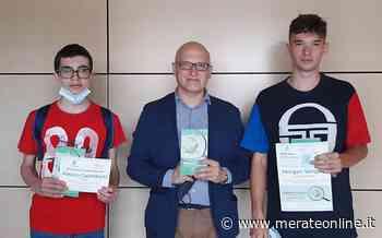Merate: 2 studenti del ''Viganò'' premiati al concorso 'Incipit' con 2 elaborati sull'Adda - Merate Online
