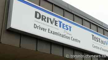You can book a road test in Ontario again starting today