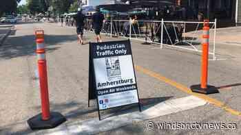 Open Air Weekends return to Amherstburg | CTV News - CTV Windsor