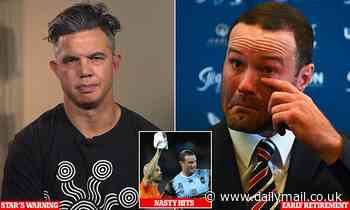 NRL star warns lawsuits over dangerous concussions could ruin footy after Boyd Cordner's retirement
