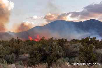 PHOTOS Jacks Valley Fire June 9, 2021