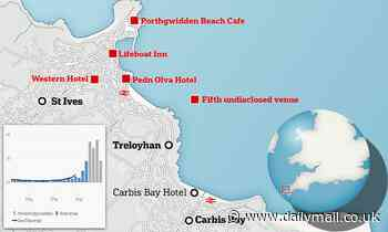 G7 Covid fears as five venues shut in St Ives because of clusters caused by 'intermixing'