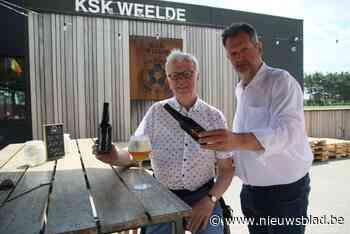 Zomerbar KSK Weelde serveert Tripel 888 en Rode Duivels
