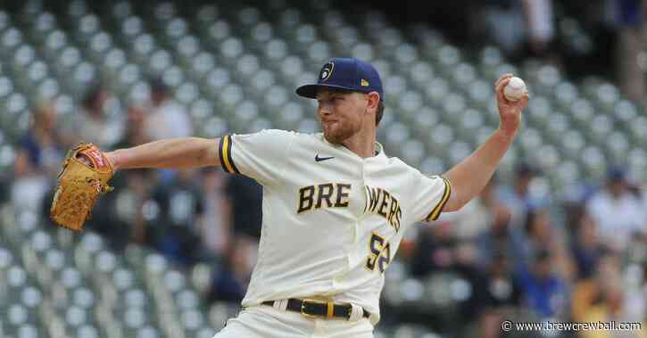 Why the Brewers are exercising patience with Eric Lauer