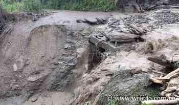 Lluvias dejan sin agua potable a por lo menos 10 veredas de Santa Rosa, Cauca - W Radio