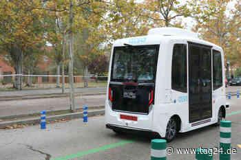Bad Soden-Salmünster: Fahrerloser Minibus darf jetzt Passagiere transportieren - TAG24