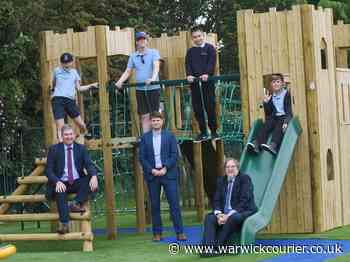 Pupils at special educational needs school in Warwick can now enjoy a new £55,000 playground - Warwick Courier