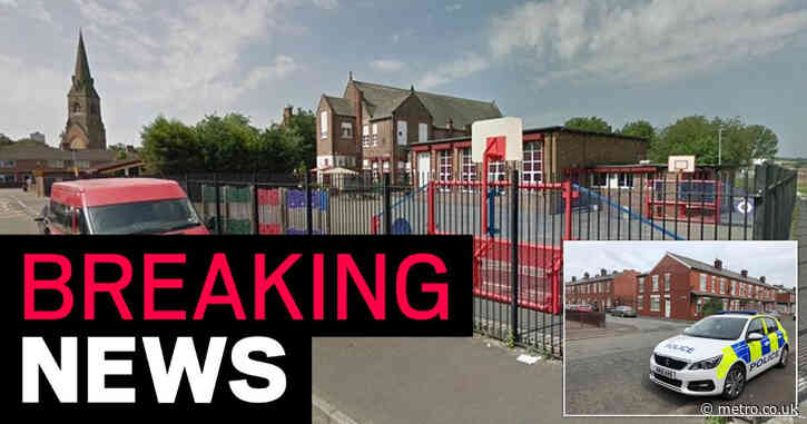 School put in lockdown as two arrested 'for assaulting police officer' nearby