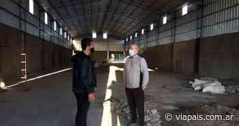 Fernández y Lamberti recorrieron obras en Claromecó - Vía País