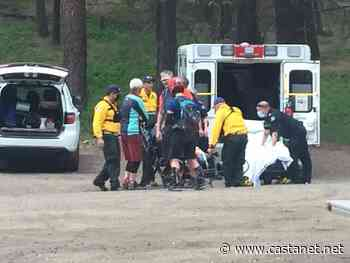 A mountain biker was rescued and sent to hospital - West Kelowna News - Castanet.net