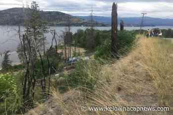 SUV hurdles down embankment in West Kelowna - Kelowna Capital News