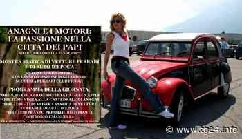 Anagni – Rosse di Maranello e vecchie signore in Piazza Innocenzo III - TG24.info