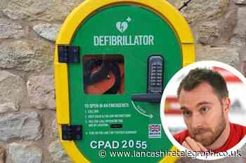 Christian Eriksen: Defibrillator sites in Blackburn