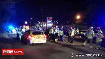 Stevenage car cruise crash: Jail for drivers who veered into bystanders