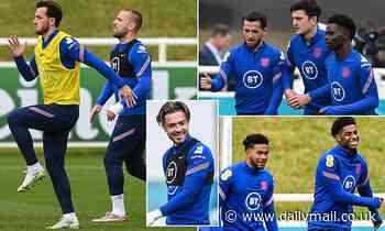 Euro 2020: England trio Harry Maguire, Jordan Henderson and Jack Grealish return to training