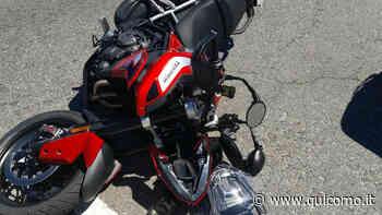 Luisago, incidente alla rotonda: ferito motociclista di 48 anni - QuiComo