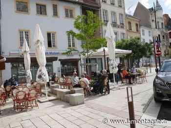 Les habitants de Cusset (Allier) ont profité du retour de leurs terrasses en centre-ville - La Montagne