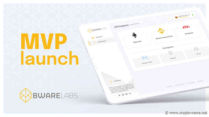 Bware Labs Launches MVP of High Performance Decentralized Node Network