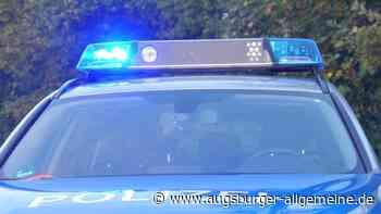 Unfall bei Ebermergen: Motorradfahrer landet im Graben - Augsburger Allgemeine