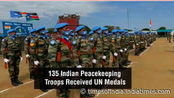 Indian Army personnel receive UN medals for stellar service in South Sudan