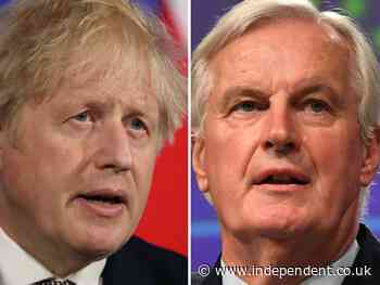 Michel Barnier tells Boris Johnson to 'respect his signature' on Brexit deal and warns UK reputation could be damaged