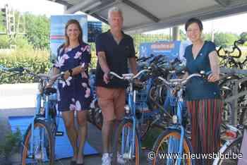 Nu ook deelfietsen van Blue-bike aan station Bouwel