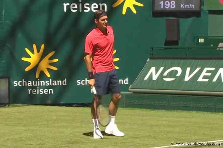 ATP Halle: Roger Federer edges Ilya Ivashka for winning start