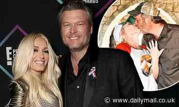 Gwen Stefani and Blake Shelton spark rumors they've secretly married