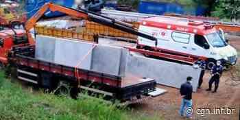 Homem morre esmagado por placas de concreto em Pato Branco - CGN