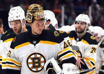 What Bruce Cassidy had to say about sticking with Tuukka Rask in net for the Bruins